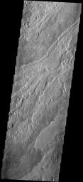 These lava flows are part of the Arsia Mons complex
