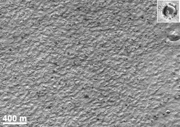 Mars Polar Lander Site Surface Details