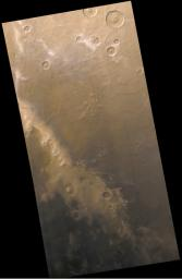 The Mysterious Martian Mountains of Mitchel