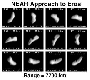 NEAR Approach to Eros