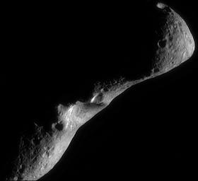 Eros Image Mosaic, Looking North