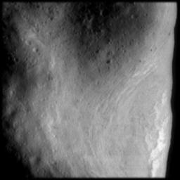 Rim of Saddle Region on Eros