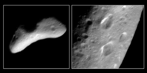 A Trio of Craters on Eros