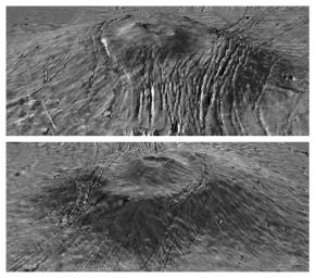 Major Martian Volcanoes from MOLA - Alba Patera