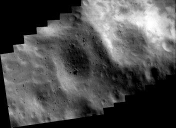 Southwest of the Big Crater (Mosaic)