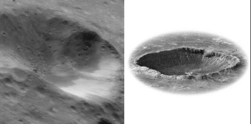 Common Craters (Earth and Eros)