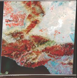 Early Landsat View of Los Angeles and Vicinity
