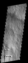 Pavonis Mons Flank