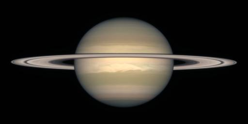 A Change of Seasons on Saturn - October, 1996
