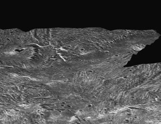 Ganymede Topography