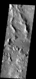 Small channels dissect this region near Nectaris Fossae