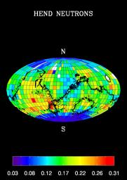 Global Map, High-Energy Neutrons