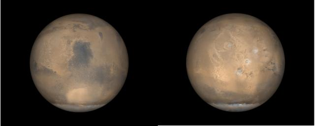 Global Views of Mars in late Northern Summer