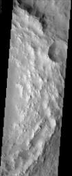 Degraded Crater Rim