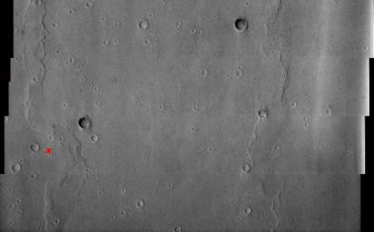 1st Manned Lunar Landing and 1st Robotic Mars Landing Commemorative Release: Viking 1 Landing Site in Chryse Planitia - Visible Image