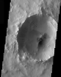 Tikhonravov Crater Dust Avalanches