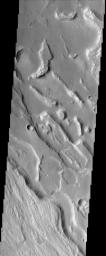 Ares Vallis Polygons