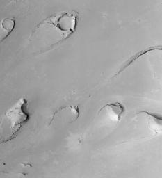 Athabasca Vallis Streamlined