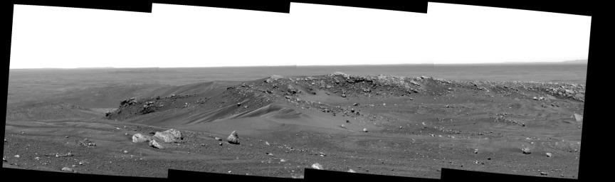 Sand-Strewn Summit of