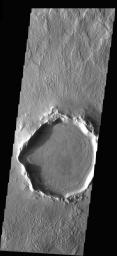 Crater Deformation