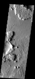 Eroded Crater Ejecta