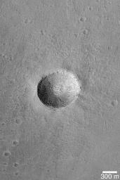 Impact on Arsia Mons