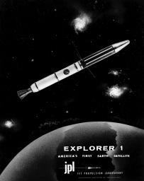 America's first satellite, Explorer 1. America joined the space race with the launch of this small, but important spacecraft.