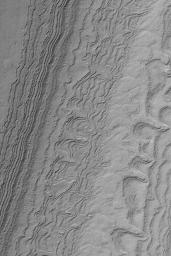 South Polar Layered Slope