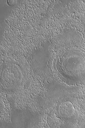 Buried Mid-Latitude Craters