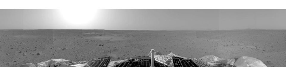 Right Panorama of Spirit's Landing Site