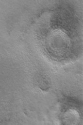 Northern Plains Buried Craters