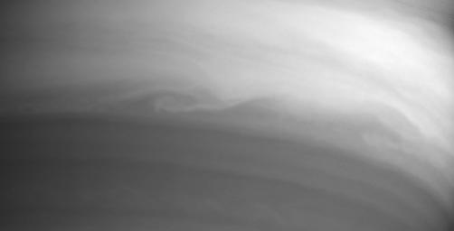 Swirls of Clouds in Infrared