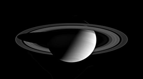 Saturn in Full View