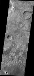 Craters in Meridiani