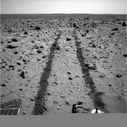 Looking Back, Spirit Sol 90