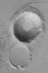 Marte Valles Crater