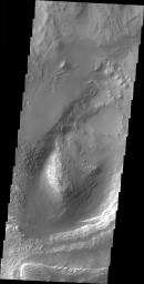 Dunes in Ganges Chasma