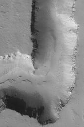 Channel on Ascraeus Mons
