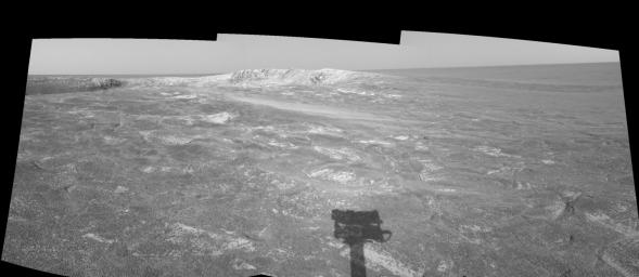 Looking at 'Endurance' on Sol 108 (left eye)