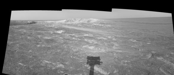 Looking at 'Endurance' on Sol 108 (right eye)