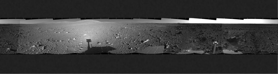 Spirit's View on Sol 147