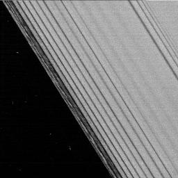 This is one of the first images taken by NASA's Cassini spacecraft after it successfully entered Saturn's orbit.