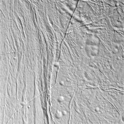 Transition on Enceladus