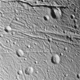 During its very close flyby of Enceladus on March 9, 2005, NASA's Cassini spacecraft took high resolution images of the icy moon that are helping scientists interpret the complex topography of this intriguing little world.