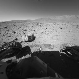 Spirit Sol 154, Driving By