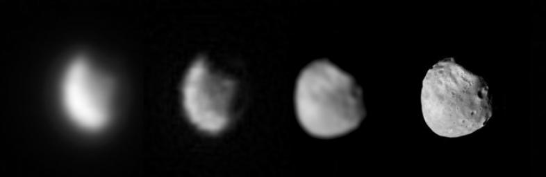 Phobos Viewed from Mars