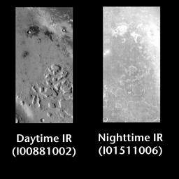 Gusev Crater by Day and Night
