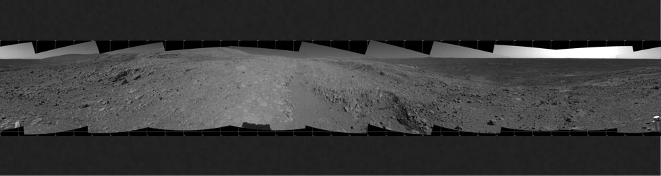 Spirit's View of 'Columbia Hills'