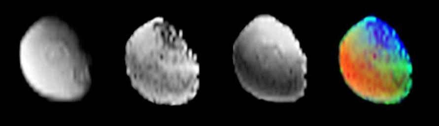 Iapetus Surface Composition