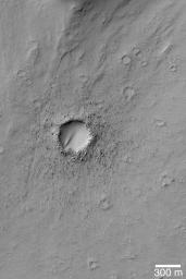 Bouldery Impact Ejecta